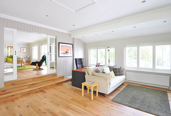 apartment wooden flooring
