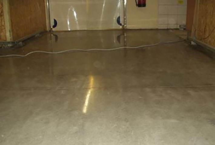 basement concrete floor