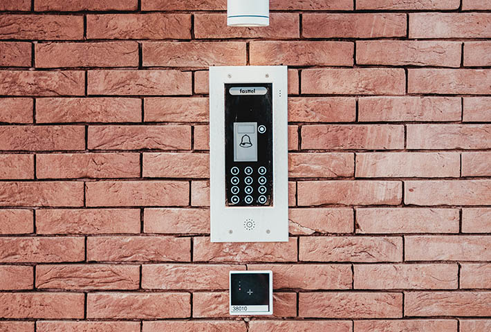 doorbell and alarm system