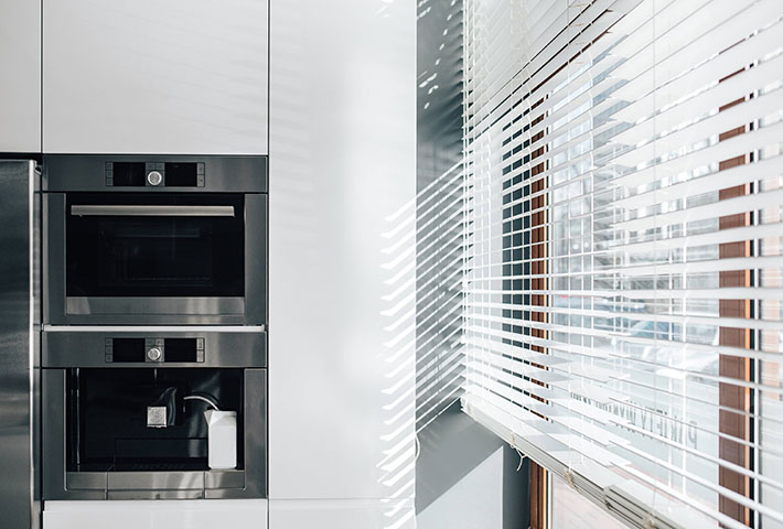 horizontal window blinds