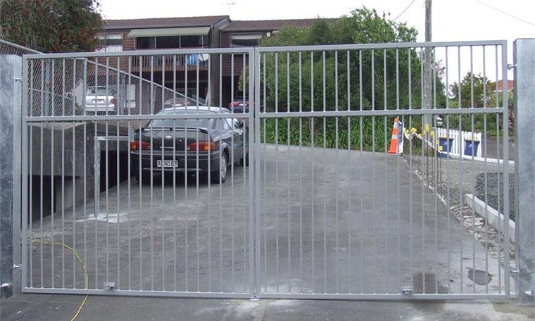 property entrance gate