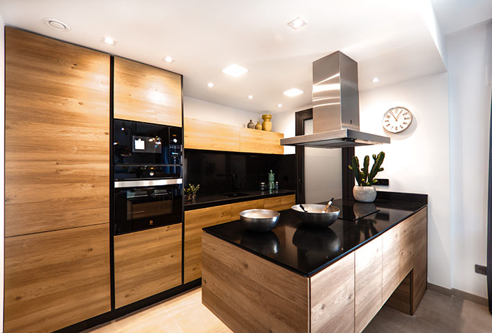 wooden cabinets kitchen furniture
